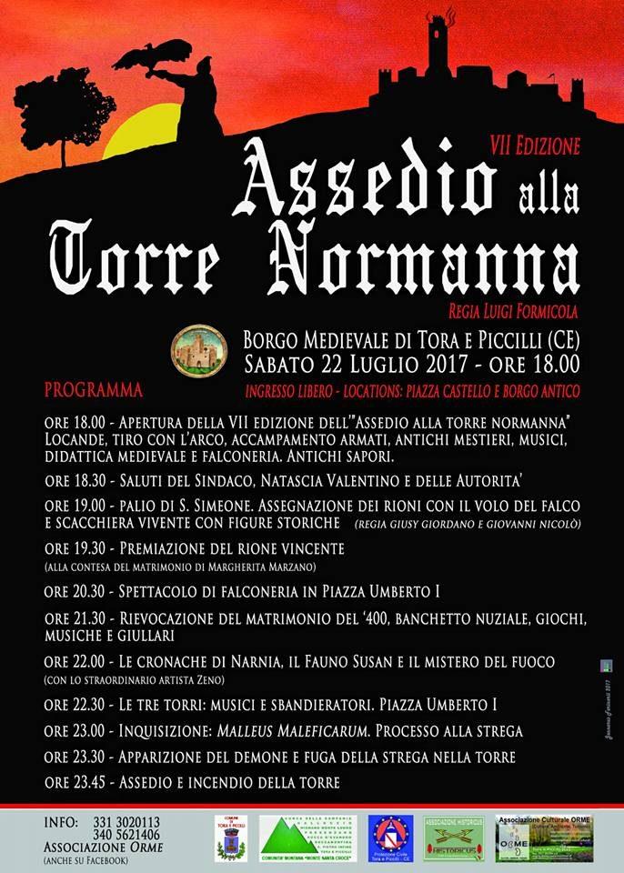 Assedio alla Torre Normanna – Tora e Piccilli